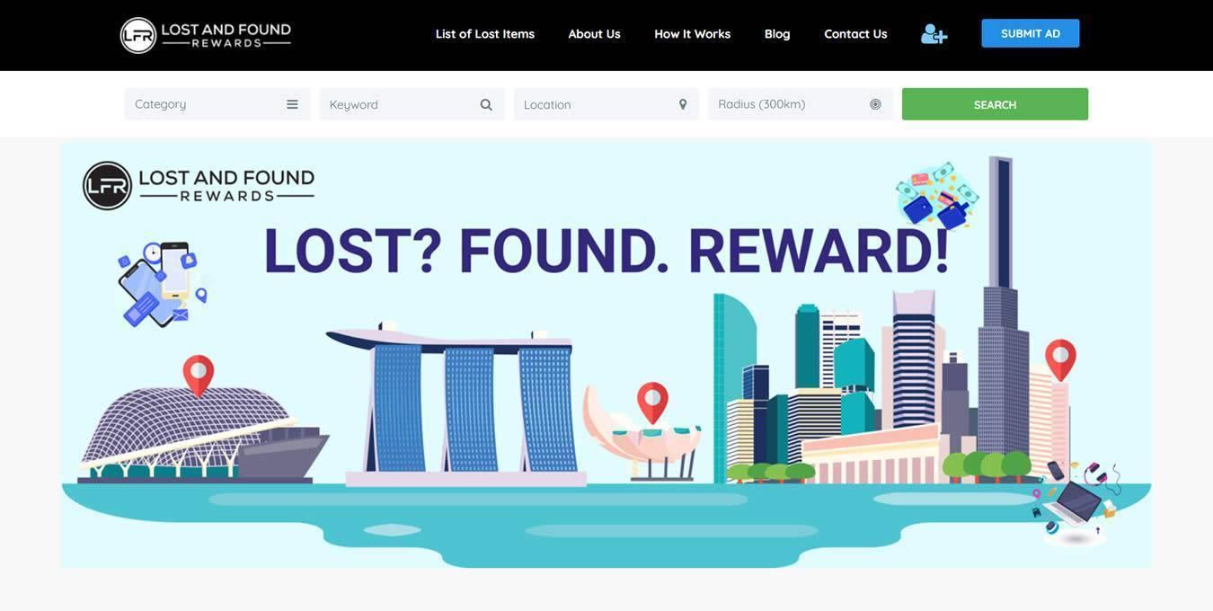 Lost and Found Rewards